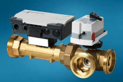 الصمام الذكي لتركيبات التدفئة والتهوية وتكييف الهواء (HVAC): يزيد من المرونة والكفاءة