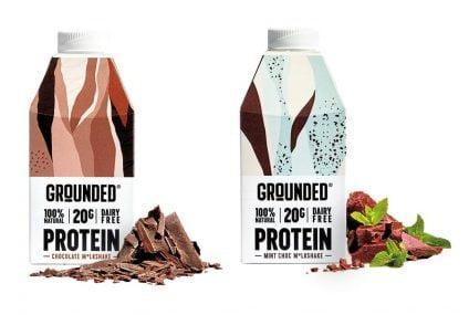 عبوات مبتكرة Innovative packaging : نماذج أولية واختبار مخفوقات البروتين النباتي