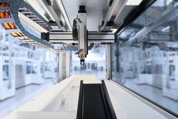 تكنولوجيا الحركة الخطيةLinear motion  technology لمصنع المستقبل