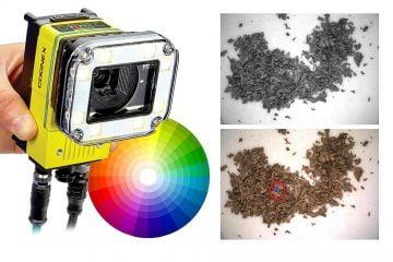 In-Sight D900 Color لأتمتة الفحص المعتمد على اللون