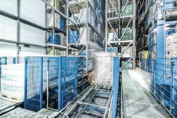 تم تحديث نظام التهوية لمستودع منتجات الألبان بالقرب من هامبورغ