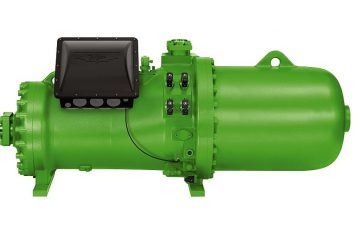 الضواغط اللولبية CSH: كفاءة الطاقة للمضخات الحرارية الكبيرة